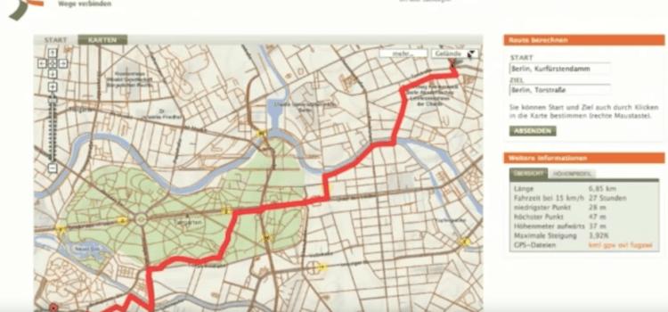 Fahrrad-Routenplaner